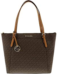 2f81c16942d1 Michael Kors Women s Ciara Large East West Top Zip Leather Tote