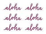 Partyset Komplettset Hawaii Aloha pink grün 75 teilig Partygeschirr Geburtstag bis 12 Personen Kindergeburtstag Sommer Gartenparty Teller Becher Servietten Party Deko - 4