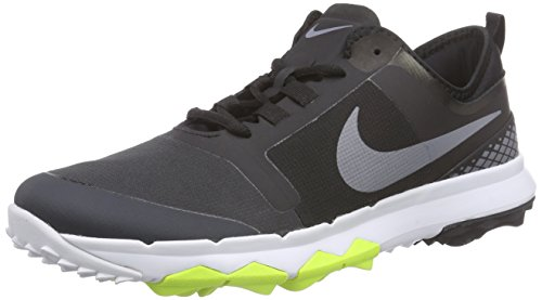 Nike FI Impact 2, Chaussures de Golf Homme, Noir (Black/Cool Grey/White/Anthracite), 42 EU