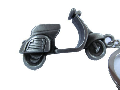 silver-bronze-or-grey-tone-mini-solid-metal-vespa-lambretta-moped-motor-bike-scooter-keyring-charm-g
