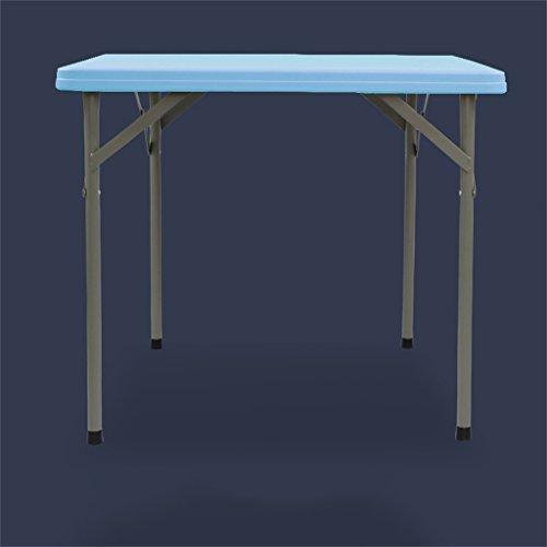 Peaceip Table Pliante Table carrée Simple Table de Mahjong Table carrée en Plein air Table portative Petit Table à Manger Petite Table de Petit déjeuner Pliante Cuisine et Table à Manger Pliante