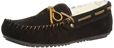 Emu Womens Amity Slippers W10555 Black 3 UK, 35 EU, 5 US, Regular