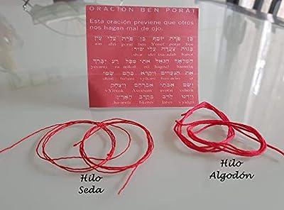 Bracelet KABBALAH Fil rouge, Rouge KABBALAH Bracelet, talisman, amulette, protection oculaire diabolique, bonne chance, bonne chance, Corde rouge