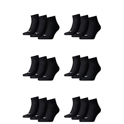 Quarti Sneaker E Calzini 200 18 Nero Puma Ladies Mens Unisex Coppia wRxpE
