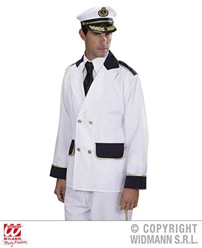 JACKE - KAPITÄN - Größe 52 (L), Marine Uniform Seemann Sailor Kostüme - Marine Offizier Uniform Kostüm