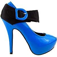 Show scarpe della pompa della piattaforma Story nuove signore di