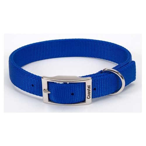 Artikelbild: Coastal Products Nylon Double Dog Overall Collar Adjustable Durable Blue 1'X24'