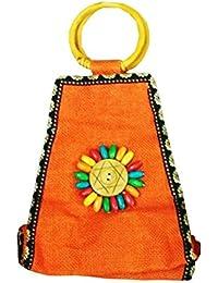 Samyawoven Bag Custom Unique Woven Tote Shoulder Bag Handbag Gift For Women Girls - Orange