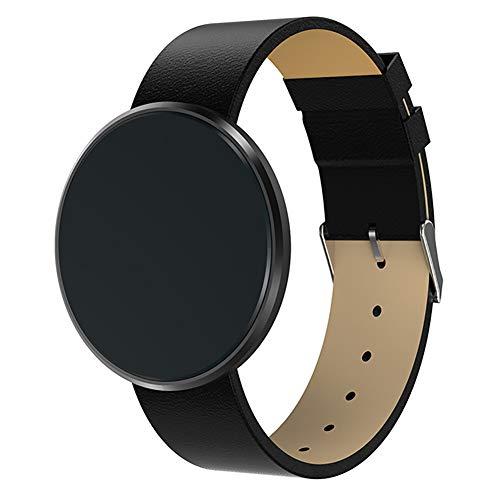 ZDY Fitness Tracker, Touch Screen Rotondo Smartwatch Impermeabile per Donne/Uomini, Smart Watch con frequenza cardiaca/Pressione sanguigna/Sonno/Pedometro Bracciale da Polso.