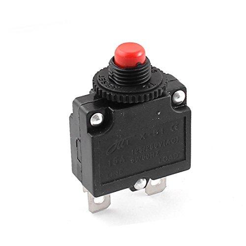 AC 125V / 250V 15A Push Button Circuit Breaker-Schutz -