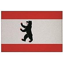 Aufnäher Stahnsdorf Fahne Flagge Aufbügler Patch  9 x 6cm