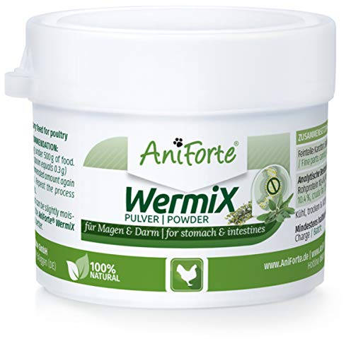 AniForte Wurm-Formel 20 g- Naturprodukt für Hühner, Gänse und Grossvögel