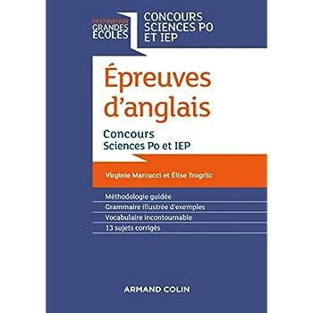 Epreuves d'anglais - Concours Sciences Po et IEP - 2e éd.