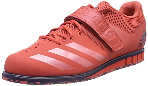 adidas Powerlift.3.1, Chaussures Multisport Indoor Homme Rouge (Trace Scarlet S18/trace Scarlet S18/noble Ink F17 Trace Scarlet S18/trace Scarlet S18/noble Ink F17)