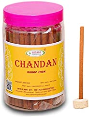 BETALA FRAGRANCE® DHOOP STICKS CHANDAN ( SANDAL ) (200 GM batti) with dhoop stand holder in box. Best dhoop st