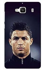 Iessential Football Designer Printed Back Case Cover For Mi Redmi 2
