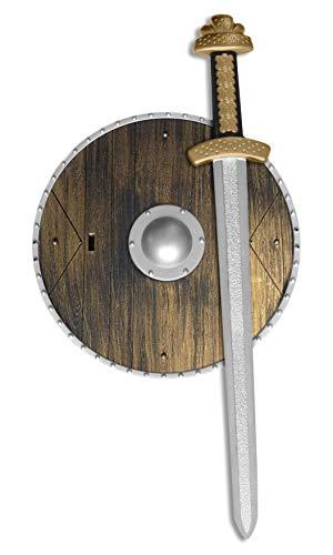 Smiffys - Waffen-Set mit Schwert und Schild (Halloween-party Kleid Bis Spiel)