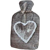 Wärmflasche Love/Herz mit Polyesterbezug Herz preisvergleich bei billige-tabletten.eu