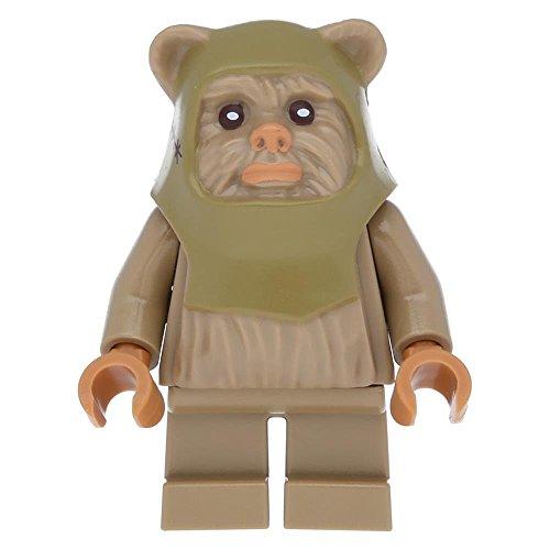 LEGO Star Wars - Minifigur Ewok Warrior (10236) (Lego Ewok Minifiguren)