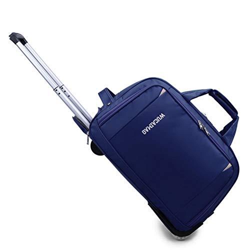 Gepäck-Handtasche mit 2 Rad-Wagen, Freizeit-Reisetasche, Trolley, Outdoor, wasserdicht, Student Trolley Bag.20/24 Zoll-3-24 Feld Videos