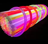 Toysntrendz - 100barras luminiscentes en varios colores