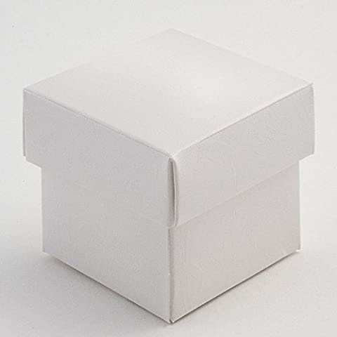 White Square Favour Box Laser Cut Wedding Sweets Favor Candy Gifts Boxes Box with Lid Bridal Shower Wedding Party