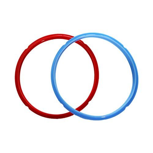 sourcingmap/® 10 Stk rot 9mm x 1,5mm Silikon Gummi Dichtung O Ring Dichtring hitzebest/ändig de