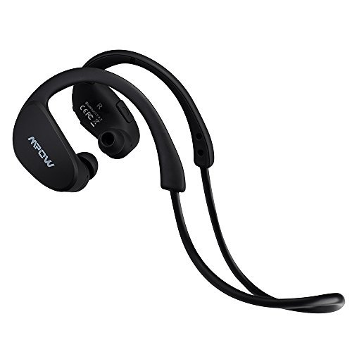 Mpow Cheetah Auricolari Wireless Bluetooth 4.1 Headset Stereo Cuffie Sport con Microfono e AptX Headphone per iPhone 6s plus/6s, iPhone 6/6 Plus, iPhone 5s/5c/5/4s, iPad, LG G2, Samsung Galaxy S6 Edge+/S6 Edge/S6/ S5/S4/S3, Note 4/Note 3/Note 2, Sony, Huawei ed altri Smartphone