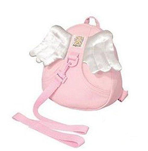ivebetter Pink Sicherheitsgeschirr Kid Baby Rucksack Zügel Geschirre–Engel