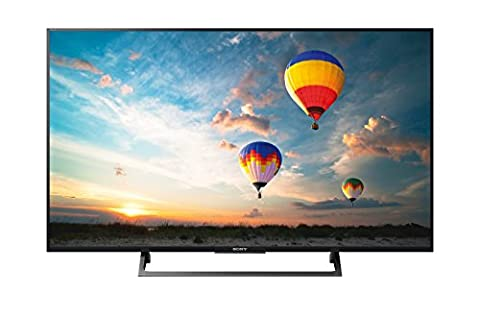 Sony KD-43XE8096 - Fernseher 43'' 4K HDR LED Android TV (Motionflow XR 400 Hz, 4K X-Reality PRO, TRILUMINOS Display, Wi-Fi),