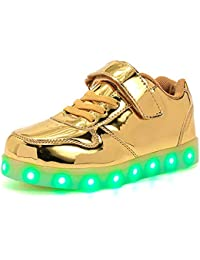 6bea7b6c436d1e Suchergebnis auf Amazon.de für  led schuhe gold - Schuhe  Schuhe ...