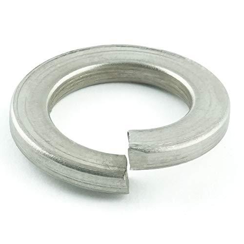 Spring Lock Washer (Eisenwaren2000 | Federscheiben M12 (100 Stück) - Federringe DIN 127 Form B - Sprengringe - Sperringe - Edelstahl A2 V2A - rostfrei)