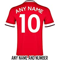 FOOTBALL SHIRT NAME AND NUMBER