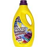 WOW–Nettoyant Machine à laver, parfum Talc et iris, délicat sur les couleurs–1965ml