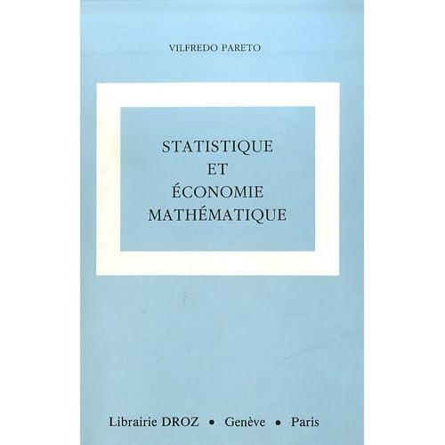 Oeuvres complètes : Tome 8, Statistique et économie mathématique