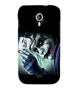 printtech Joker Card Gotham Back Case Cover for Micromax Canvas HD A116::Micromax Canvas HD Plus A116Q