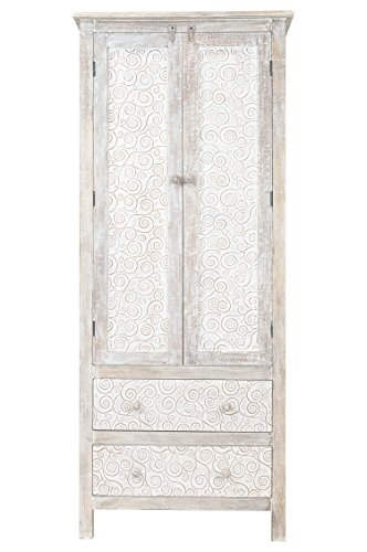 Orientalischer grosser Schrank Kleiderschrank Valencia 183cm hoch   Marokkanischer Vintage...