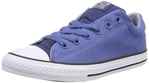 Converse Unisex-Kinder CTAS Street Slip Navy/Nightfall Blue on Sneaker, Blau (Nightfall Blue/Glacier Grey/White), 31 EU (Canvas-slip-sneakers)