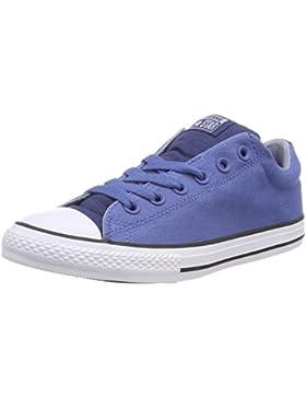 Converse CTAS Street Slip Navy/Nightfall Blue, Zapatillas sin Cordones Unisex Niños