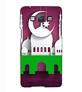 Fuson Designer Back Case Cover for Samsung Galaxy A5 (2015) :: Samsung Galaxy A5 Duos (2015) :: Samsung Galaxy A5 A500F A500Fu A500M A500Y A500Yz A500F1/A500K/A500S A500Fq A500F/Ds A500G/Ds A500H/Ds A500M/Ds A5000 (Eid E Milad theme)