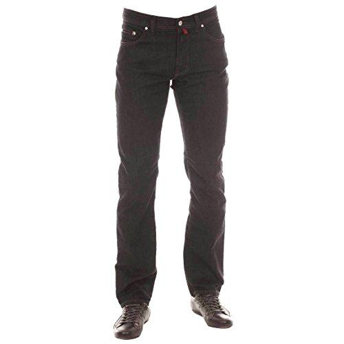 Pierre Cardin Deauville 3196, Jeans Loose Fit Uomo, Nero (Black 05), 42W X 34L