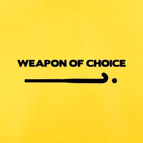 Weapon Of Choice Field Hockey - Herren T-Shirt - 13 Farben Gelb