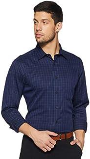 Arrow Men's Checkered Regular Fit Formal Shirt,