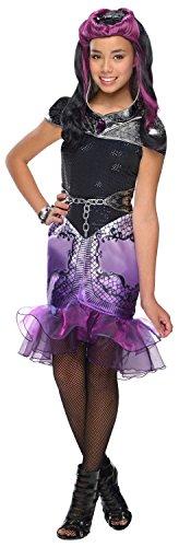 Queen Kostüm Raven - Generique - Raven Queen Kostüm für Mädchen, Ever After High