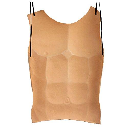 Bulary Fake Männlichen Muskel Brust Eva Schaum Halloween Kostüm Party Cosplay Requisiten Lustige Kleid Kostüm Zubehör
