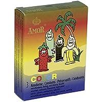 Preisvergleich für AMOR Color Kondome 3 Stück