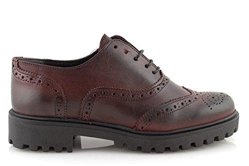 damalu Zapatos Hombre eleganti Maletín Clásico Negras Francesine Auténtica Piel Fondo Cuero Made In Italy 0TUUL