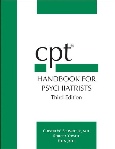 CPT(R) Handbook for Psychiatrists by Chester W. Schmidt (2004-04-01)
