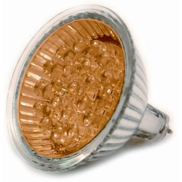 Active led cld-mr16ye Bombilla LED, Foco Amarillo, bajo Consumo