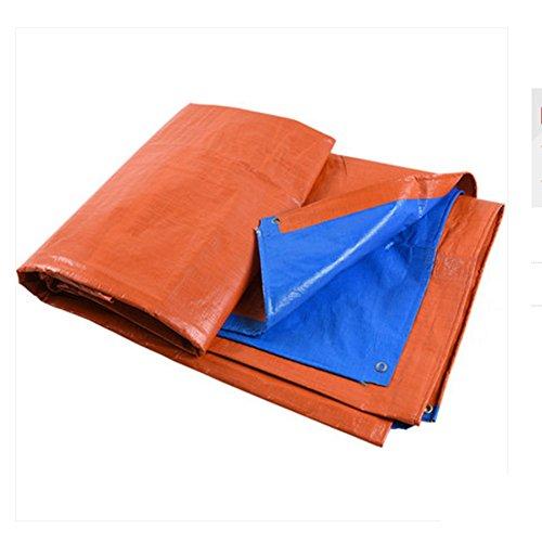 Dongyd Starker Wasserdichter Regen-Stoff-Sonnenschutz im Freien, passend für Bauernhof, Garten, Orange 10m * 12m - Orange Camo Stoff